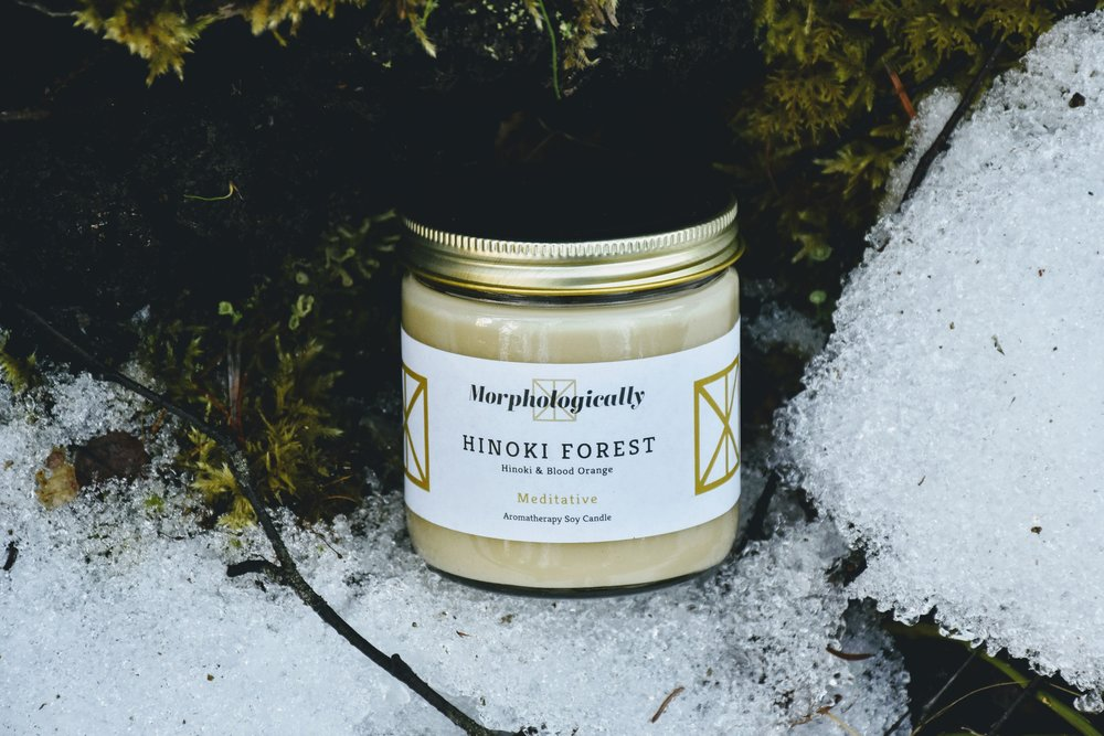 Hinoki Forest Soy Candle by Morphologically