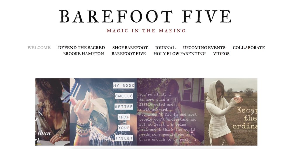 Barefoot Five - - Brooke