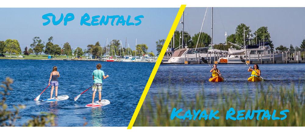 SUP / Kayak Rentals -