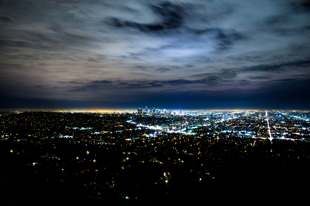Los Angeles, CA as seen from the Griffith Observatory // July 18th 2015