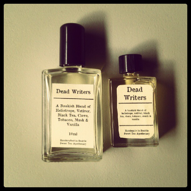 dead writers perfume cologne oil 10 ml