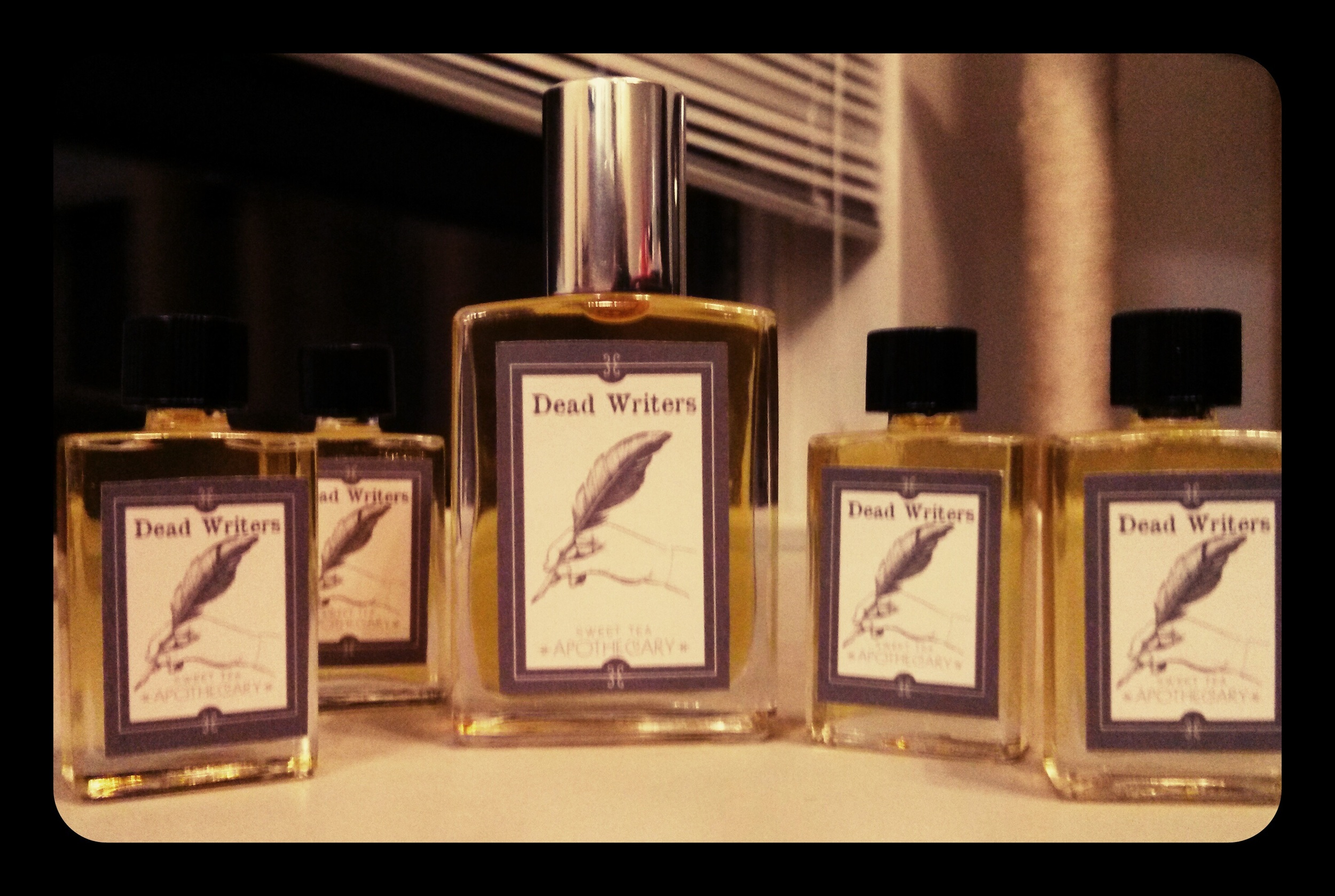 Dead Writers 15ml and 5ml perfume Oils by Sweet Tea Apothecary
