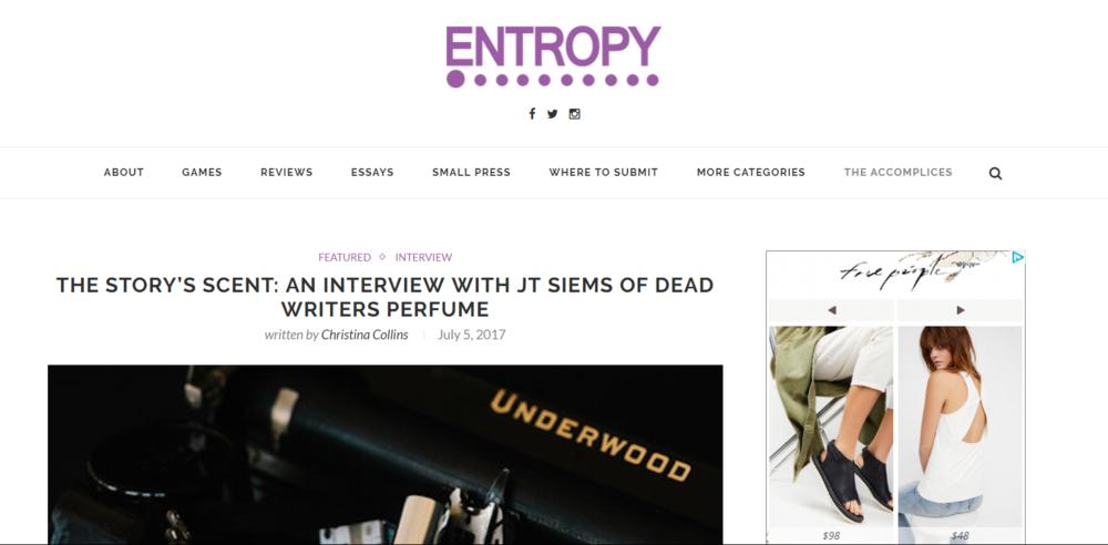 Entropy Magazine