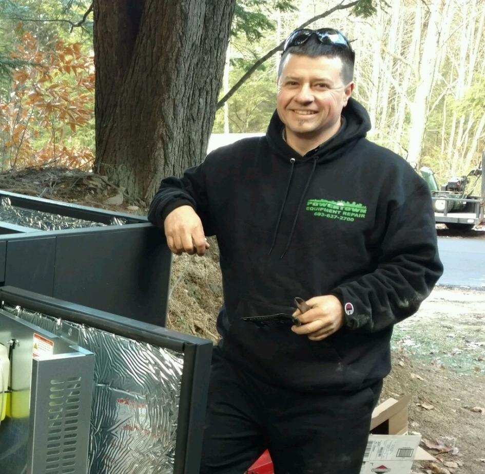Service technician    Dan Peront