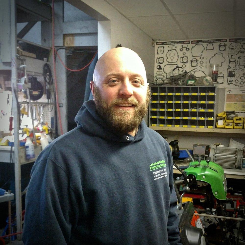 Field service Technician  George Sandquist