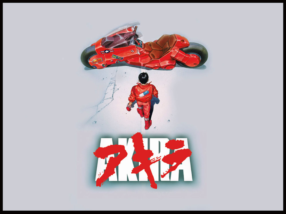 Akira, 1988. Japanese science fiction anime film. Directed by Katsuhiro Otomo, produced by Ryōhei Suzuki and Shunzō Katō and written by Otomo and Izo Hashimoto.