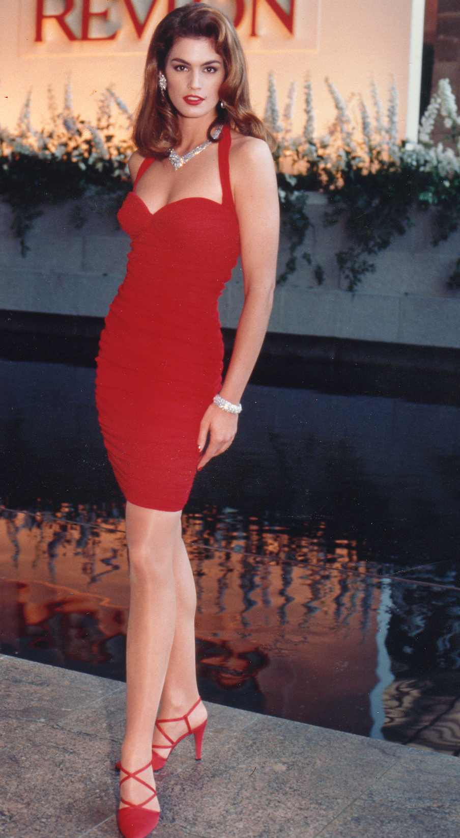 Cindy Crawford Revlon, Metropolitan Museum Event