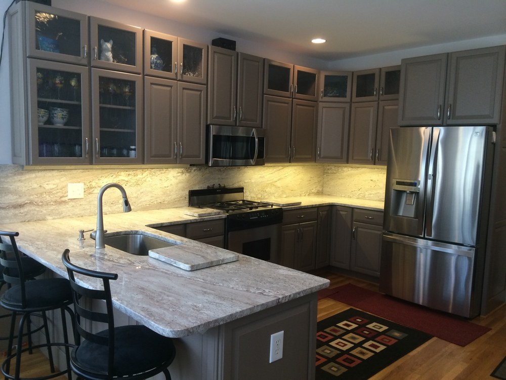 Kitchen Cabinets Refinishing Refacing Redooring Custom Cabinets - Most cost effective kitchen cabinets