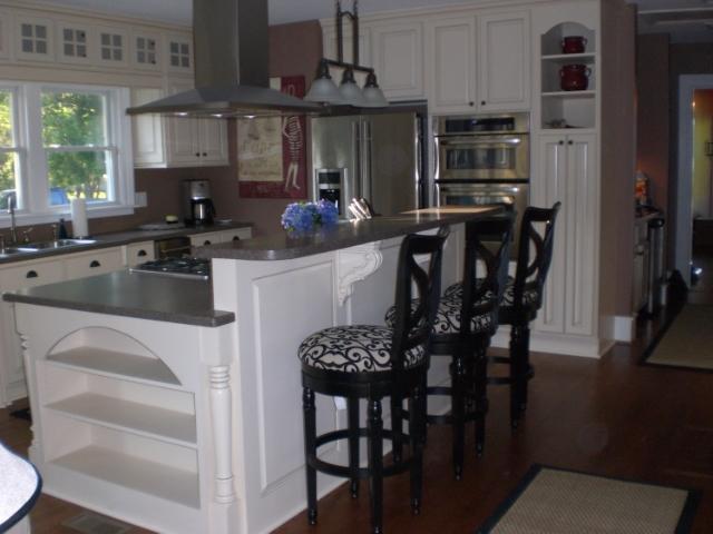 custom kitchen islands — bull restoration
