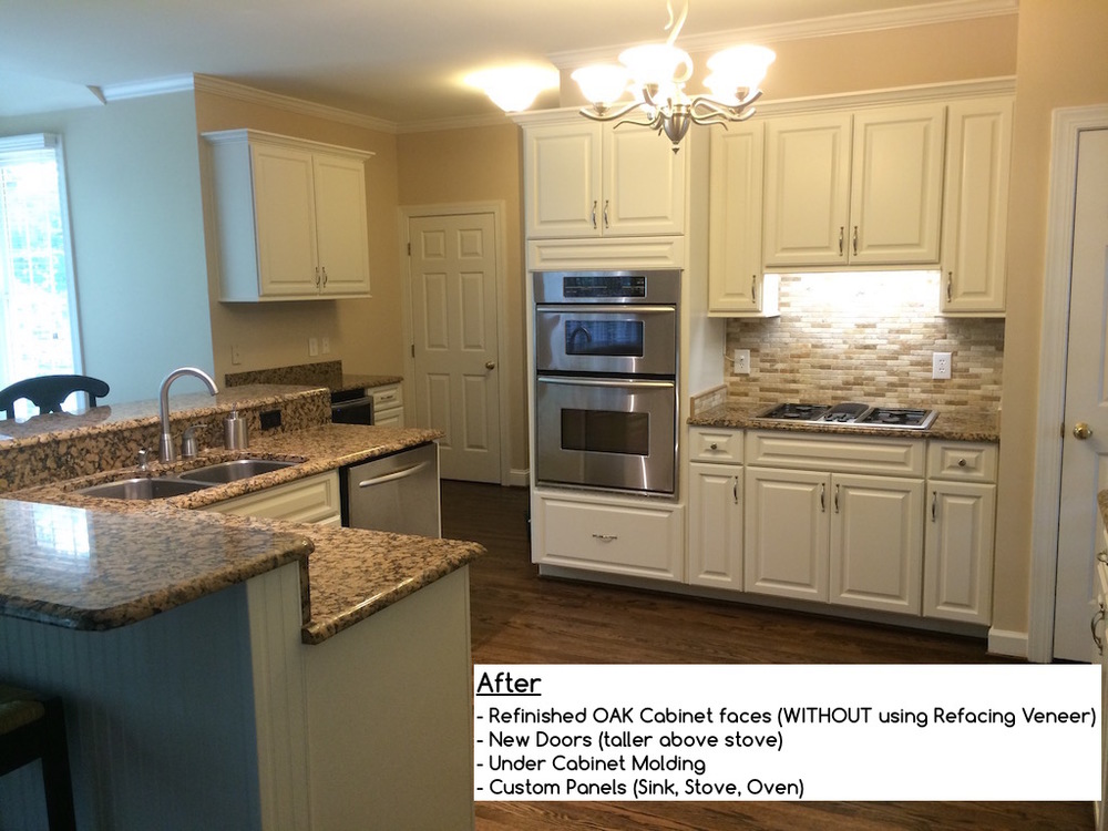Kitchen Cabinets Refinishing Refacing Redooring Custom Cabinets