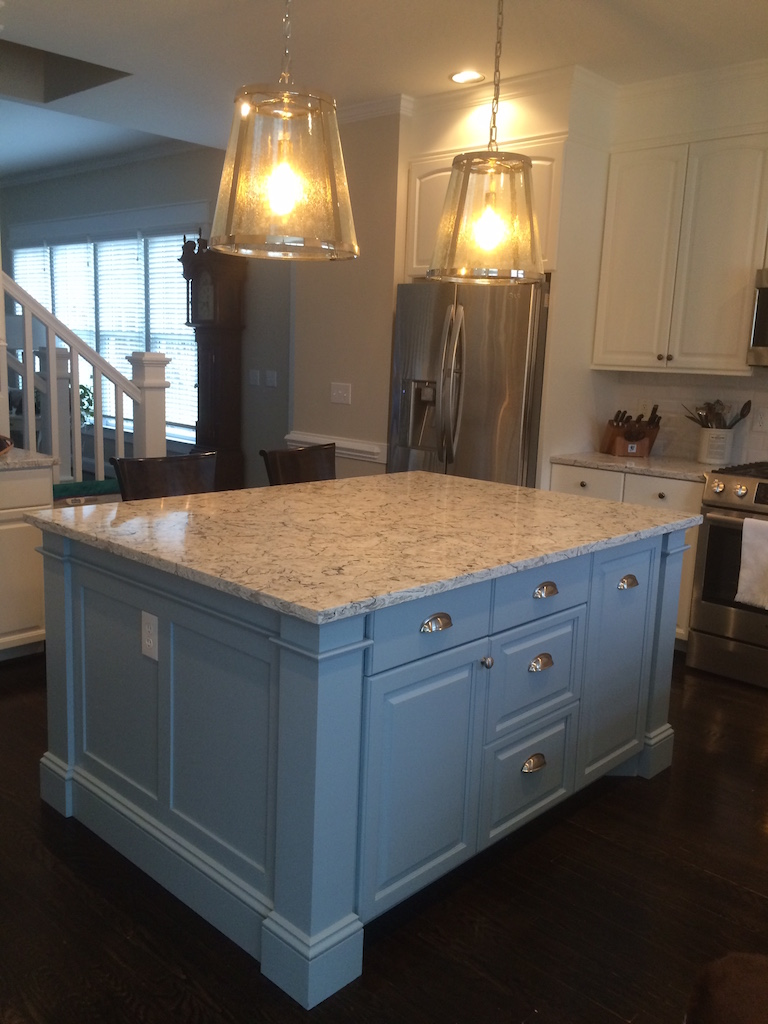 custom kitchen islands bull restoration custom island in nantucket fog 1 jpg