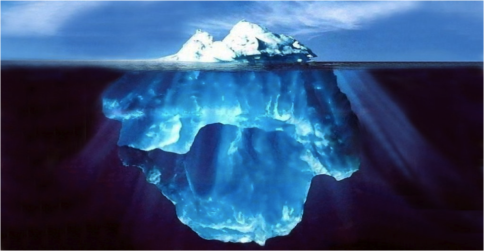the conscious mind is just the tip of the iceberg