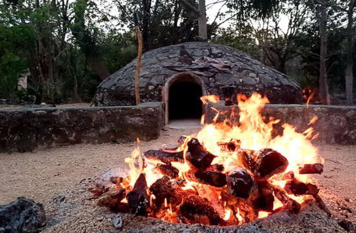 temazcal ceremony preparation