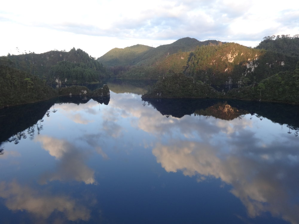 lago de montebello, chiapas