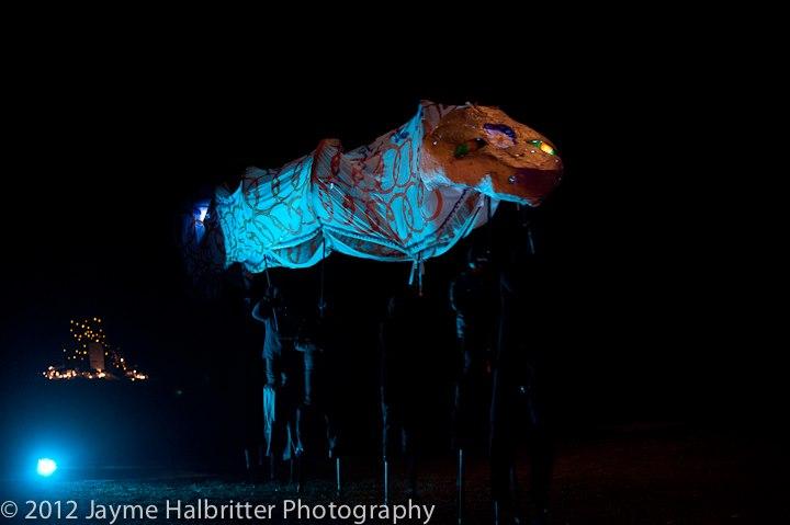 Giant Snake Lantern Puppet