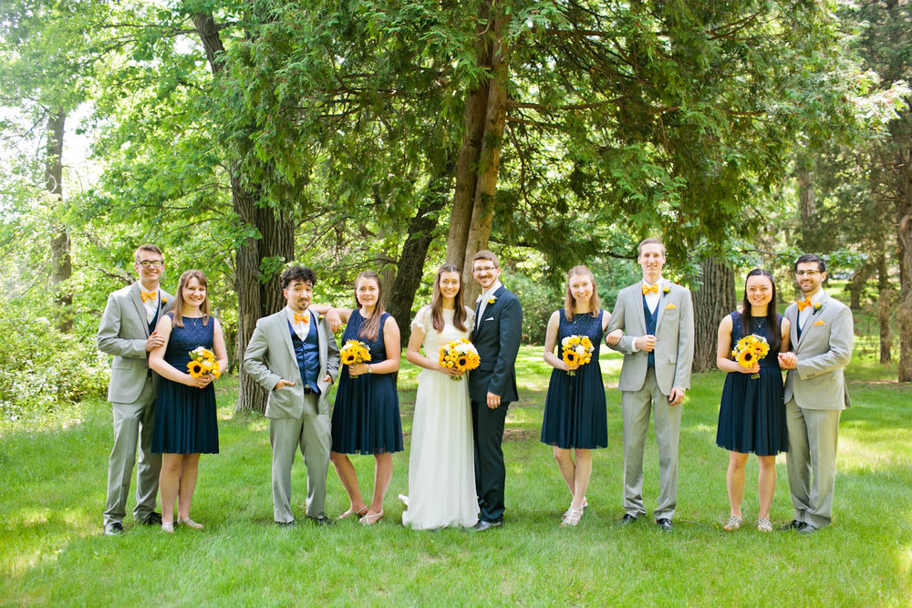 outdoor wedding photographer midwest the knot