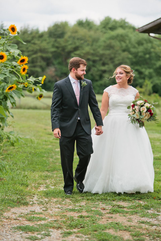 Iowa wedding photography sunflowers