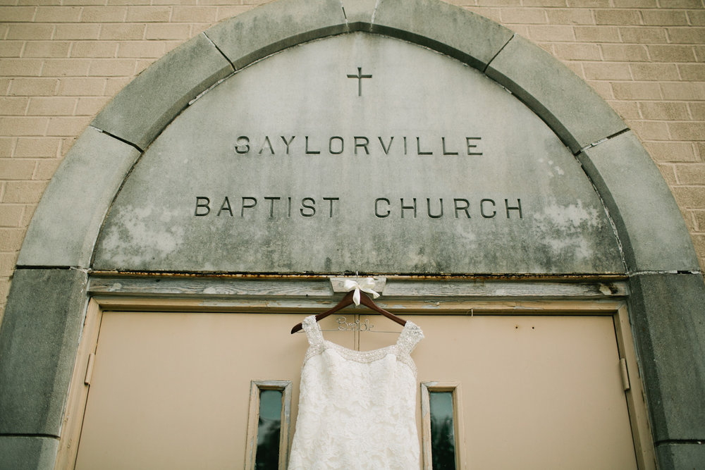 wedding at Saylorville Baptist Church Des Moines