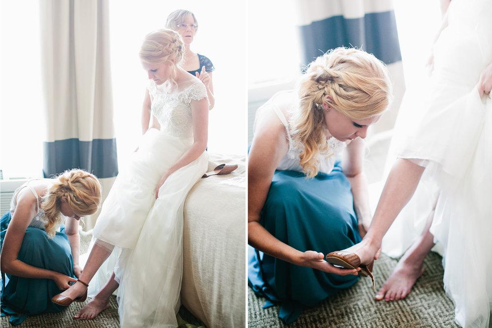 wedding dress shoes boutique Omaha
