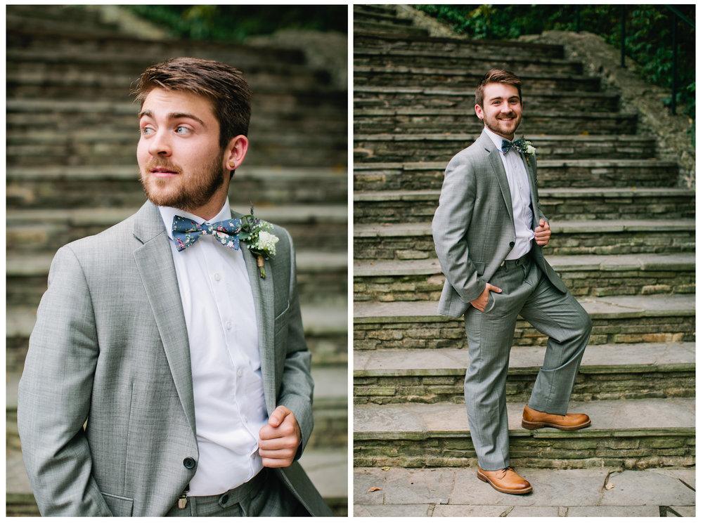 classic timeless wedding portraits groom