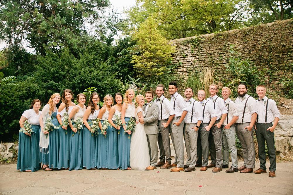 Elmwood Grotto wedding Omaha