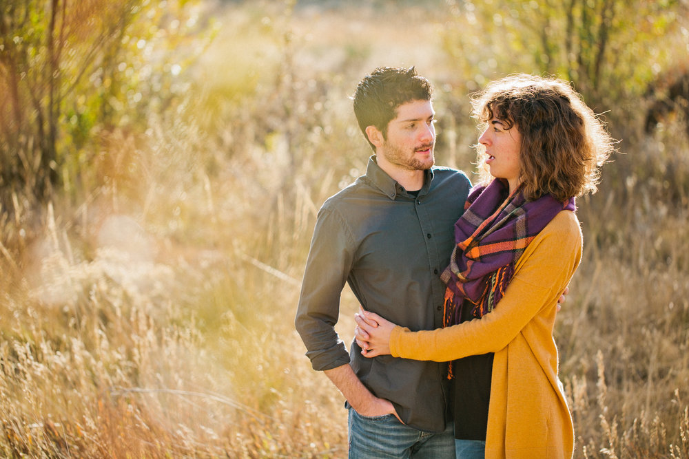 Garden of the Gods Colorado Springs engagement photos