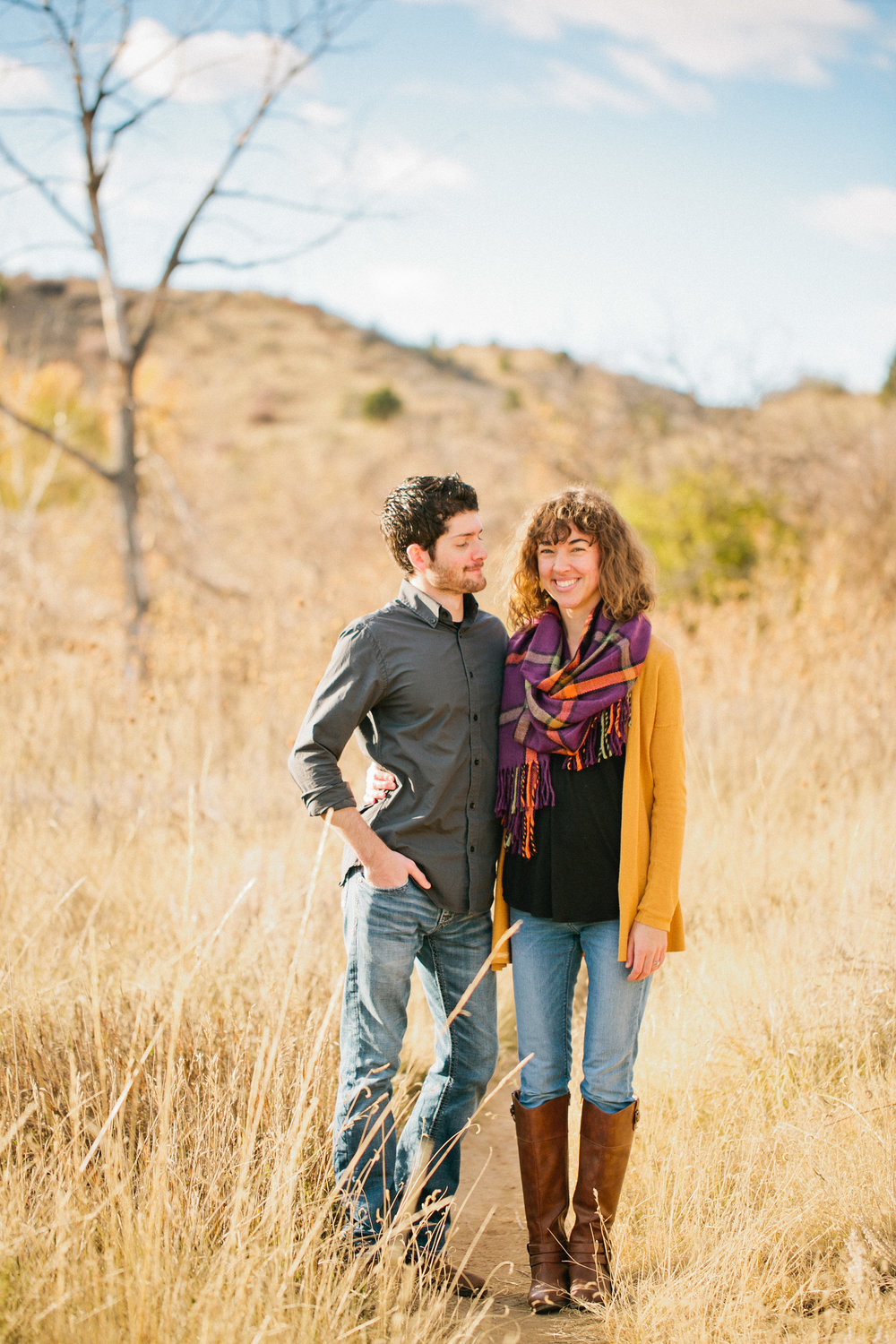 "Sondermann Park in Colorado Springs ""parks to take engagement photos Colorado Springs"""