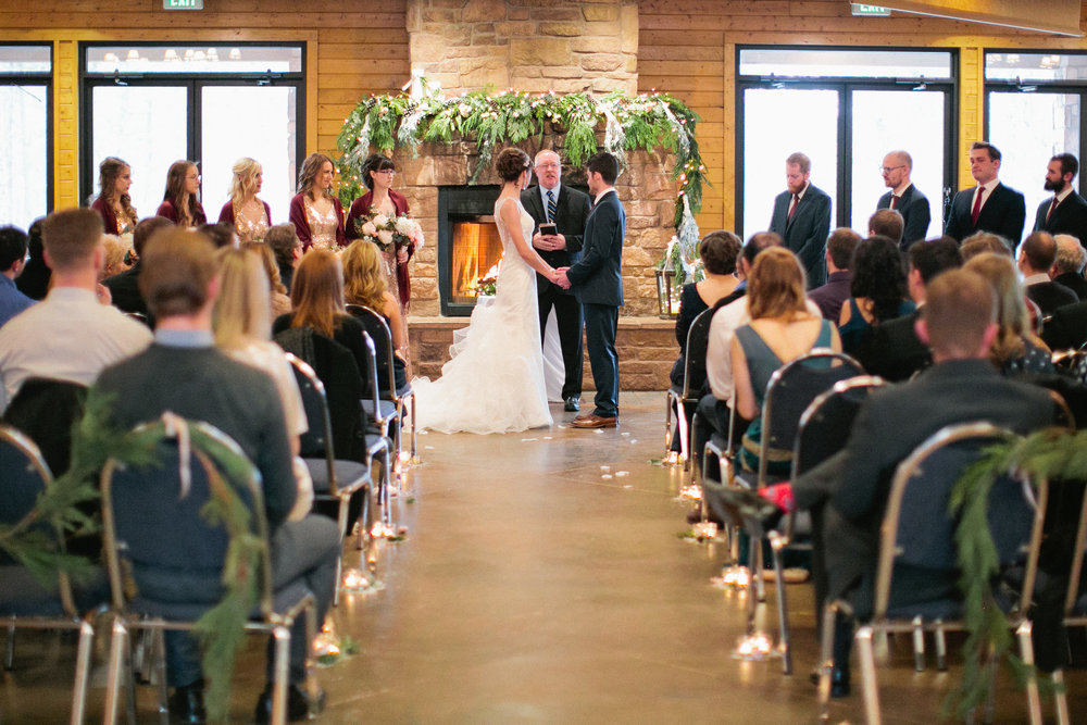 Mountain Lodge Wedding in Colorado