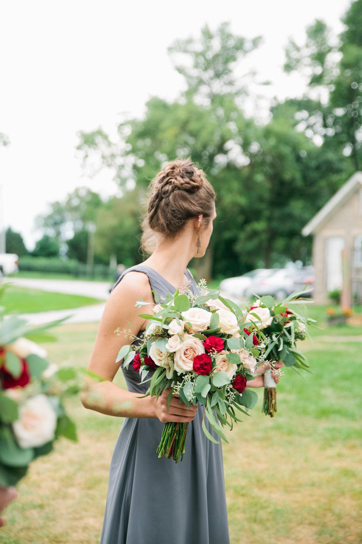 Cedar Valley wedding flowers