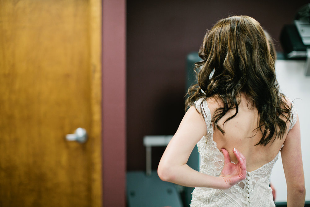 I love this little moment of Danae right after she put her dress on! I almost made it black and white...maybe I should!