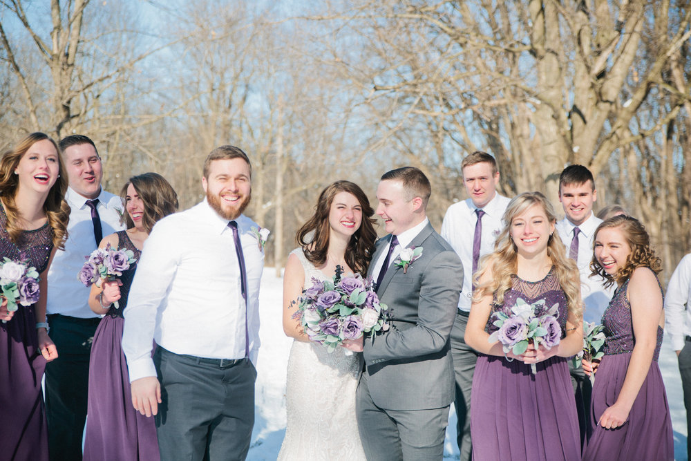 Des Moines and Ames wedding photographers