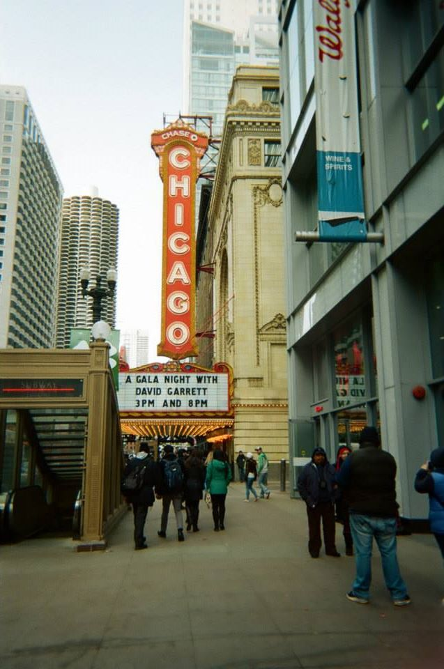 film photo of Chicago Marque