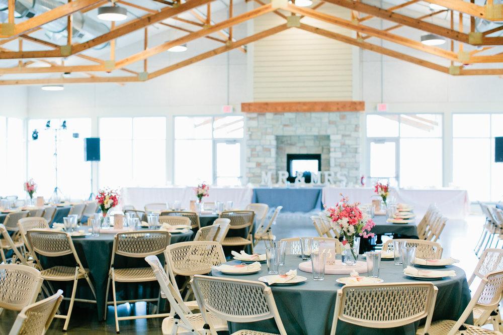 Harper's Ferry wedding reception