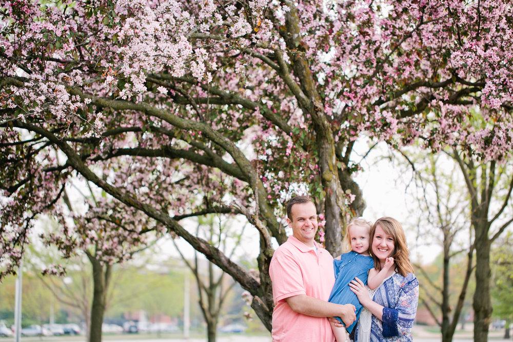 magical spring family photos