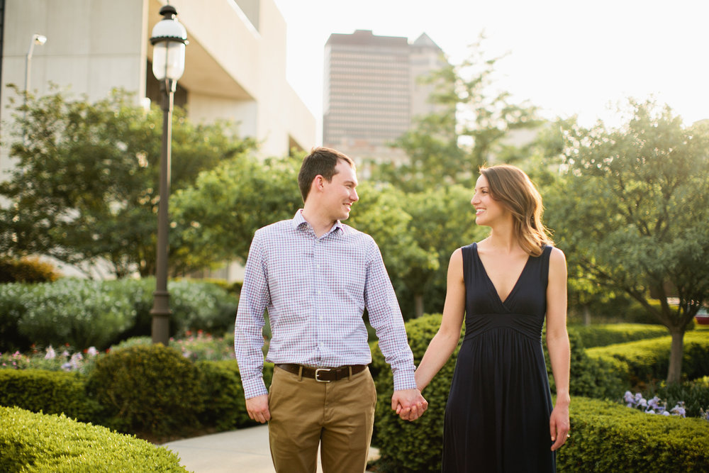 scenic route bakery engagement photos