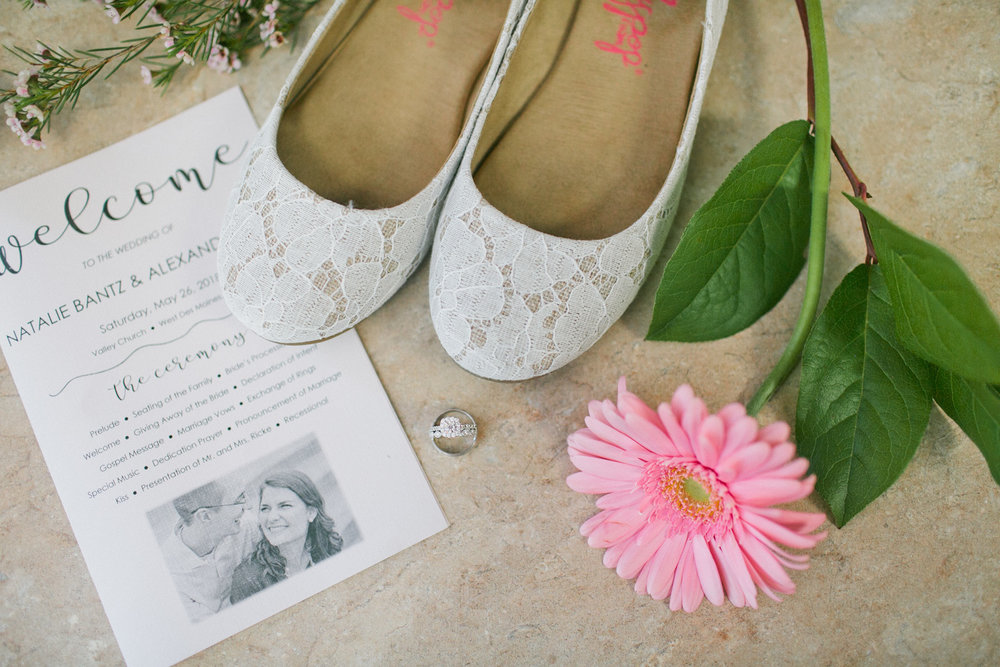 shoes-rings-flowers-program-wedding