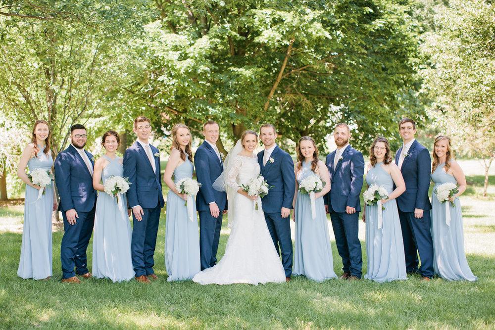 outdoor wedding venues Omaha Indian Creek