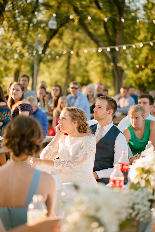 outdoor wedding in Iowa