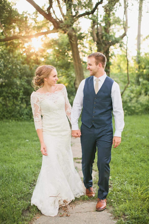 Outdoor Omaha Wedding with Old Market Reception Venue