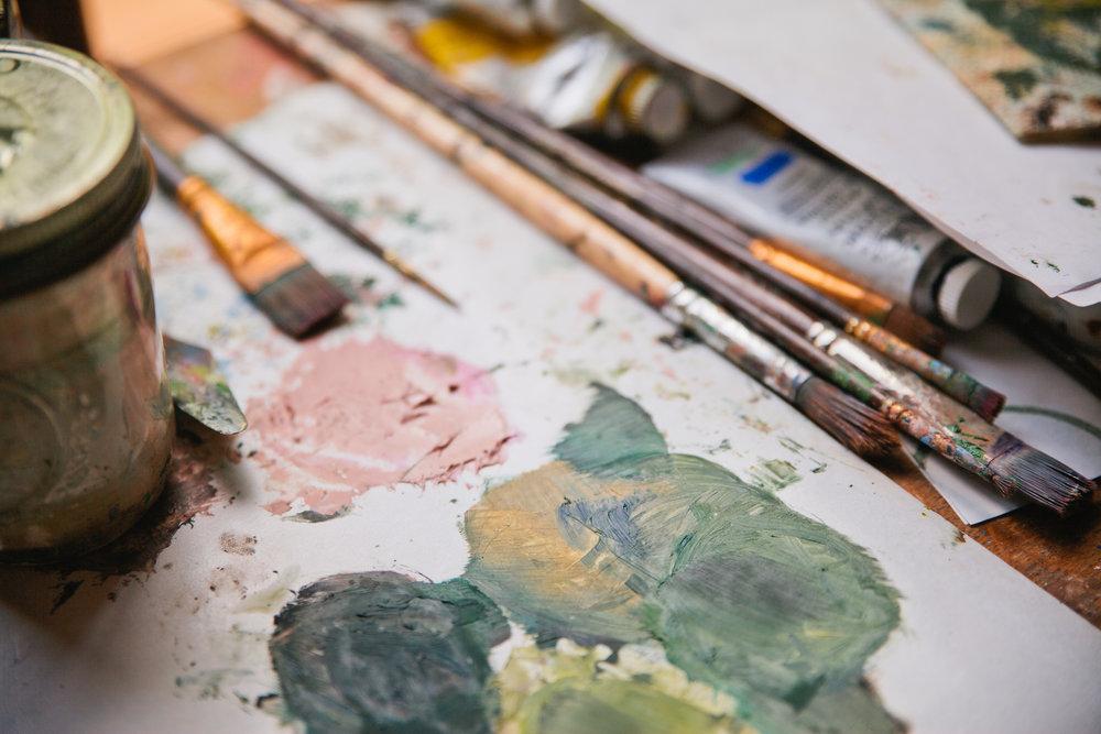 international oil painters