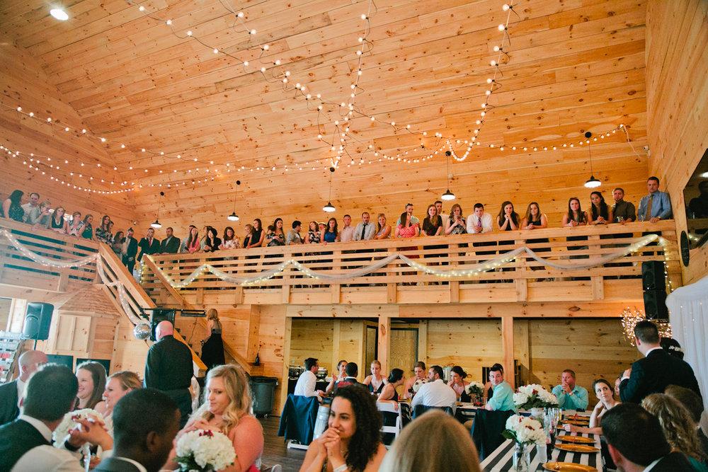sunset ridge barn wedding in Prole IA