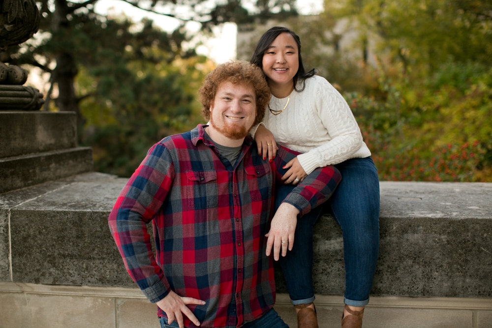 fall family and wedding photos on Iowa State campus in Ames Iowa