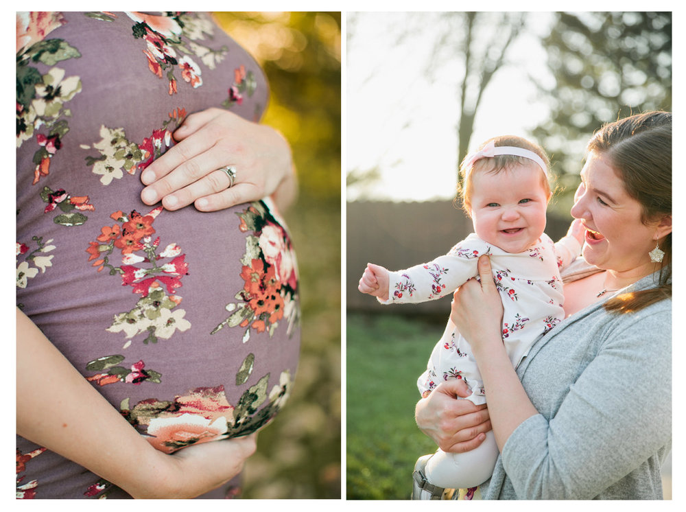 maternity and newborn photographers in Des Moines