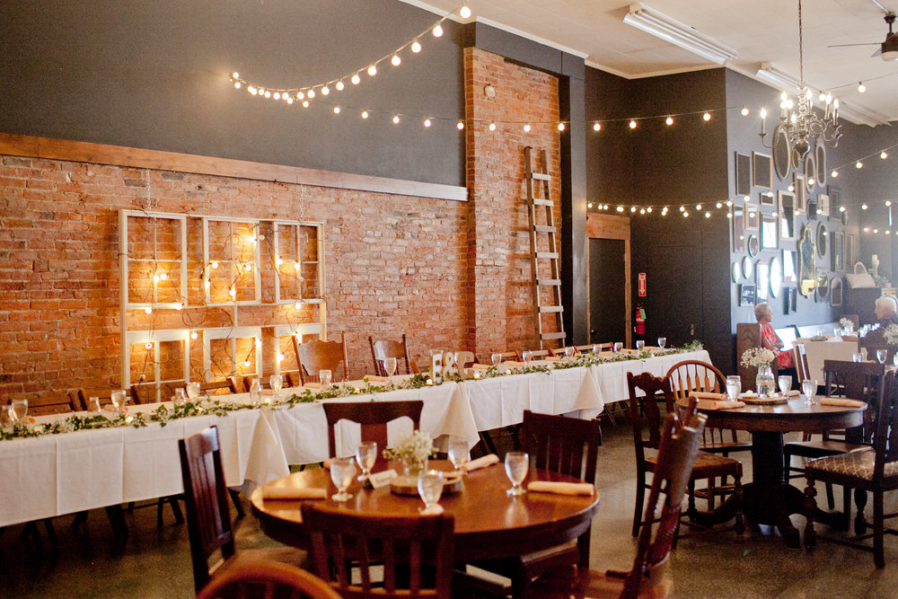 Chic country wedding reception venues near Des Moines