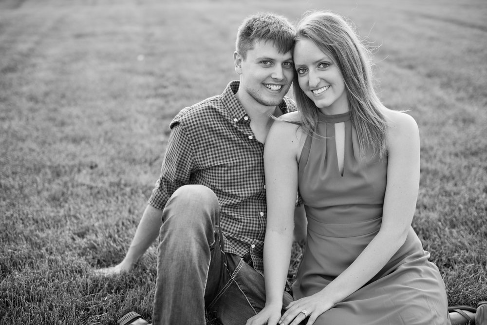 better homes and gardens test garden engagement photography