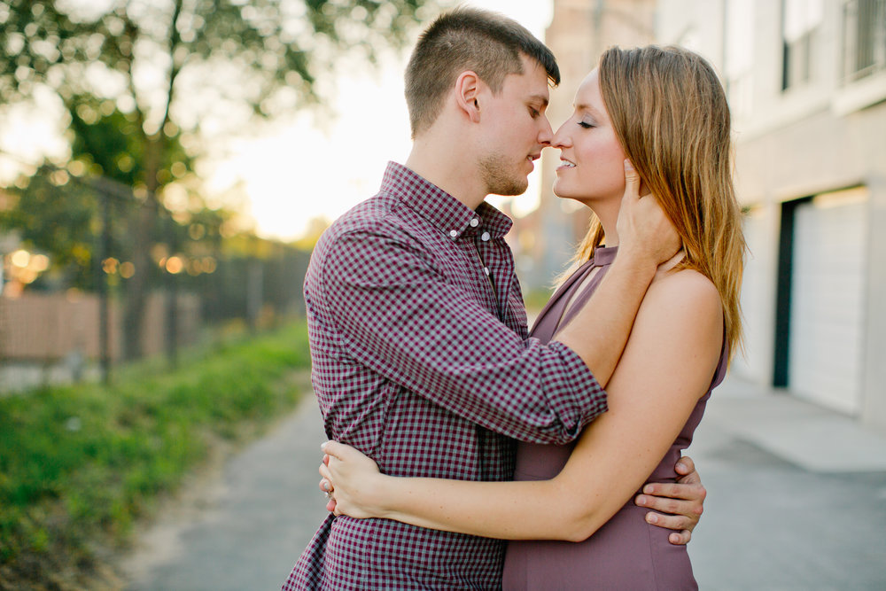 downtown cedar falls engagement and wedding photographers Amelia Renee