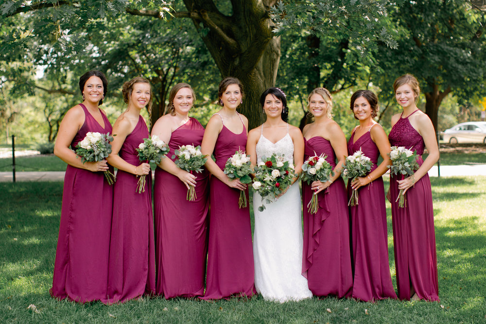 Ames Iowa wedding photographers outdoor weddings romantic and natural photos