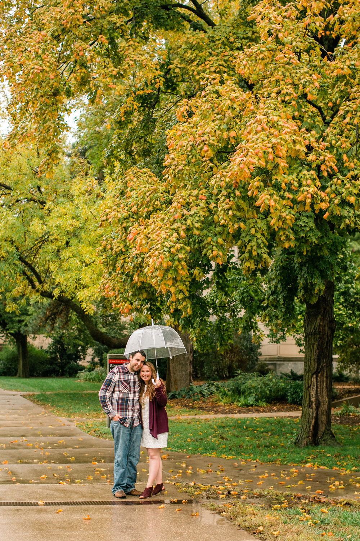 Cedar Falls Iowa engagement and wedding photographers Fall Amelia Sutton