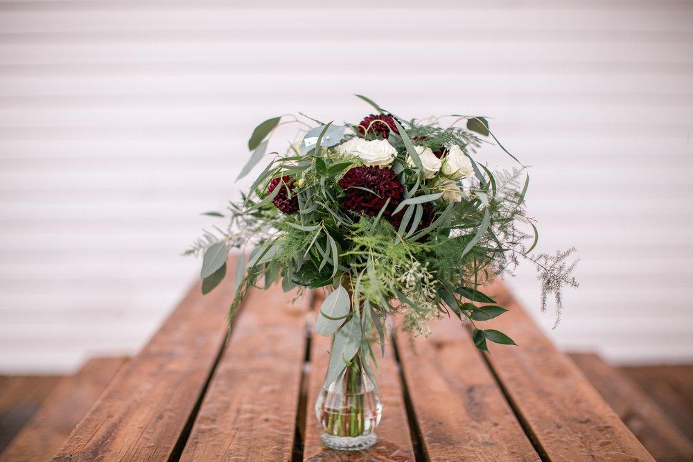 Eau Claire wedding florists
