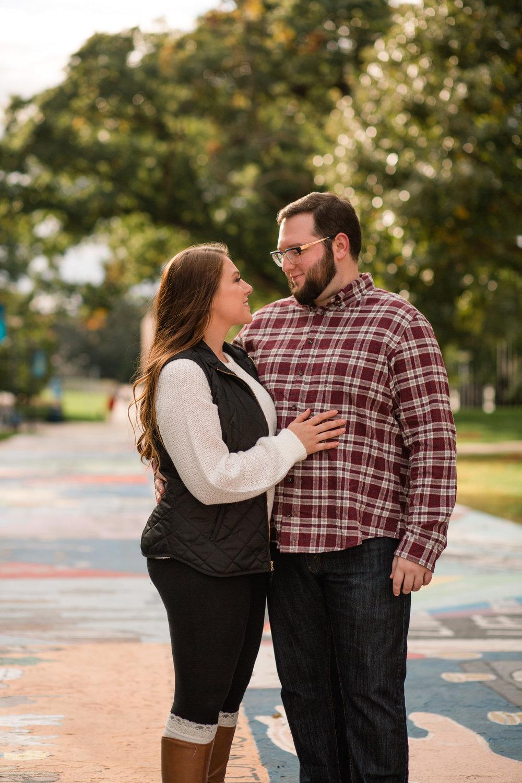 Drake University engagement wedding photographers